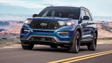 Prueba del Ford Explorer 2019