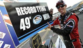 El líder de la NASCAR, a 206 km/h cerca de una guardería