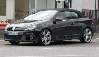 El prototipo del Volkswagen Golf R Cabrio, cazado en vídeo
