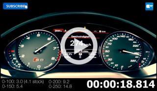Audi S8 MTM Talladega: 0-100 km/h en 3 segundos y 280 km/h