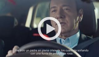 Kevin Spacey, protagonista de la campaña del Renault Espace