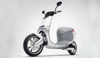 gogoro scooter electrico taiwán frontal lateral