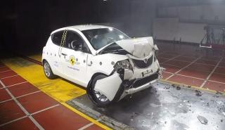 Malos resultados para el Lancia Ypsilon en el Euro NCAP