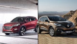¿Cuál es mejor, el Renault Kadjar o el Hyundai Tucson?