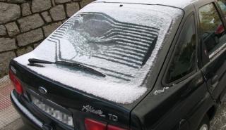 Cómo quitar hielo del cristal del coche