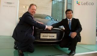 Aston Martin y LeEco, juntos por el Rapide eléctrico