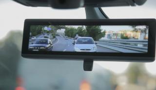 trafico retrovisor inteligente