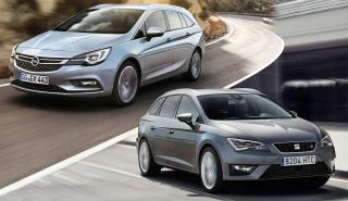 ¿Cuál es mejor, el Opel Astra ST 2016 o el Seat León ST?