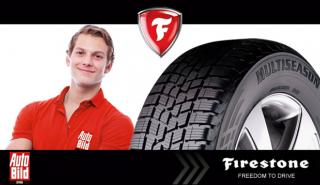 Probador neumáticos Firestone Multiseason
