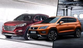 ¿Cuál es mejor, el Seat Ateca o el Hyundai Tucson?
