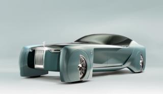 Rolls-Royce Vision Next 100: el concept del futuro
