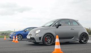 Drag Race: Abarth 695 Biposto vs Renault Mégane GT