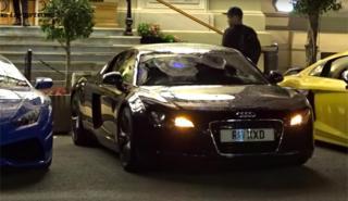 Un Audi R8 con una alarma inspirada en Star Wars