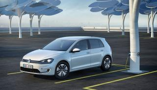 Se para su Volkswagen e-Golf y utiliza un generador