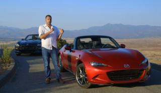 Vídeo: ¿puede el Fiat 124 Spider vencer al Mazda MX-5?