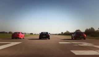 Vídeo: Audi S5 2017 vs Mercedes-AMG C43 y Chevy Camaro SS