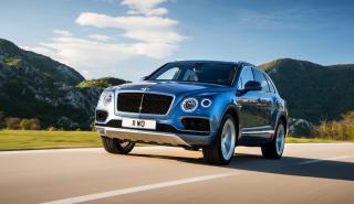 Bentley Bentayga diésel tres cuartos delanteros