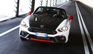 Abarth exhibe los 124 Spider, 595 y 124 Rally en París