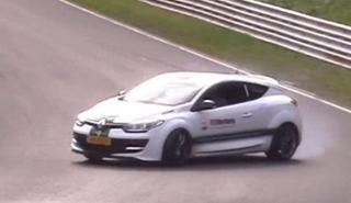 Vídeo: Las cruzadas de un Renault Mégane RS en Nürburgring