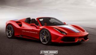 Cazado el posible Ferrari 488 Speciale Aperta