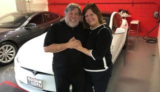 Steve Wozniak, cofundador de Apple, enamorado de Tesla