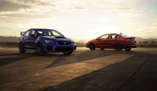 Esta es la imagen de los Subaru WRX y WRX STi 2018