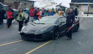 Cristiano Ronaldo NO abandonó su Lamborghini en Navacerrada