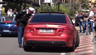 Vídeo: el Mercedes-AMG E63 que la lía en Mónaco