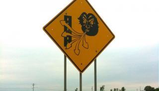 Siete señales de tráfico tan curiosas como reales