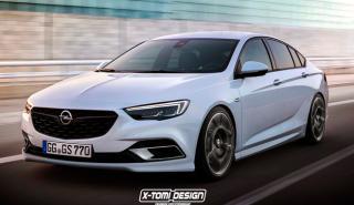 Opel Insignia Grand Sport OPC: cazado en Nürburgring