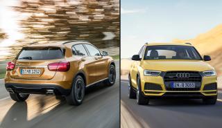 ¿Cuál es mejor, el Mercedes GLA o el Audi Q3?