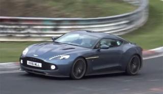 Disfruta del Aston Martin Vanquish Zagato en Nürburgring