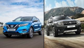 ¿Cuál es mejor, Dacia Duster o Nissan Qashqai?
