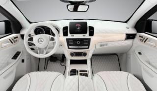 Interior totalmente blanco para el Mercedes GLE de TopCar