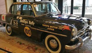 Toyopet Crown Delux, el primer coche de rallys Toyota