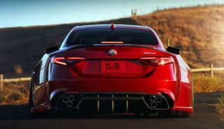 El Alfa Romeo Giulia QV K.S. es simplemente bestial