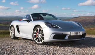 Vídeo: Chris Harris prueba el Porsche 718 Boxster S