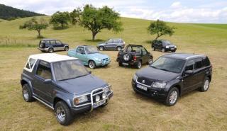 El Suzuki Vitara cumple 30 años