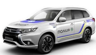 La policía que ha comprado 651 Mitsubishi Outlander PHEV