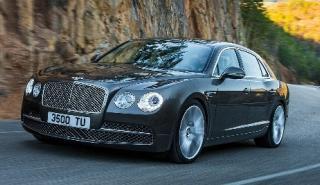 El Bentley Flying Spur 2018: el modelo de serie, cazado