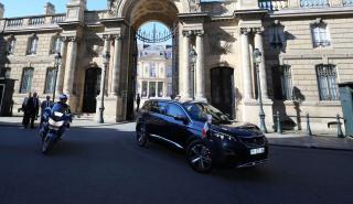 Peugeot 5008 Emmanuel Macron