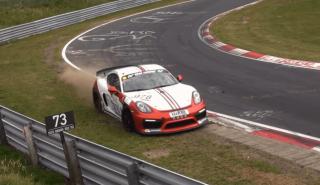 Salvada Porsche Cayman GT4 Clubsport NBR