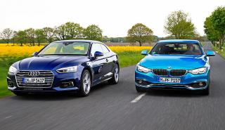 Audi A5 vs BMW Serie 4 facelift