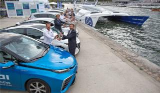 Barco hidrógeno Toyota
