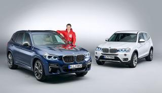 Nuevo BMW X3 vs el modelo actua