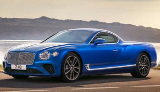 Bentley Continental GT pick up