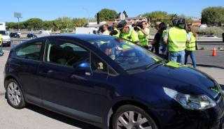 Campaña cinturón de seguridad y SRI