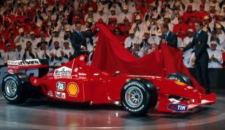 Ferrari F2001 de Michael Schumacher