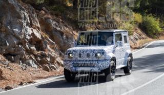 Suzuki Jimny 2019 fotos espía