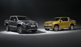Volkswagen Amarok Aventura Exclusive y Amarok Dark Label